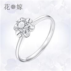 CRD花嫁系列-花語 鉑金鉆石戒指