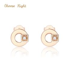 Choose Right系列 18K金鉆石耳飾E0280R
