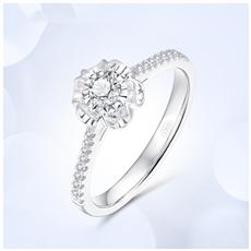 珍藏—18K金钻石戒指