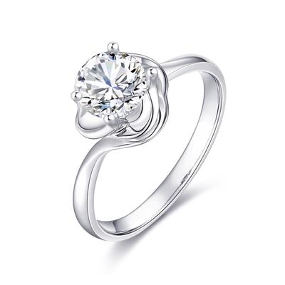 花蕊 18K金钻石戒指