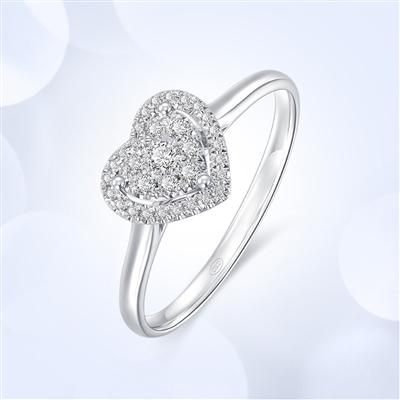 星悦—18K金钻石戒指