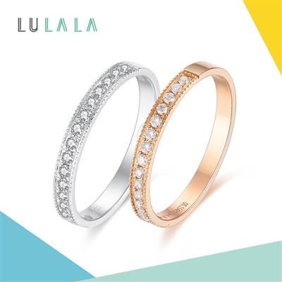 LULALA系列-拾光 18K金钻石戒指