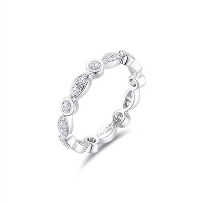 CRD Symbol系列 铂金钻石情侣戒