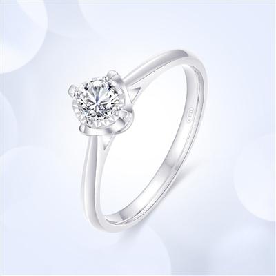 簡愛—18K金鉆石戒指