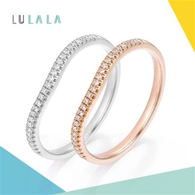 LULALA系列-小確幸 18K金鉆石戒指