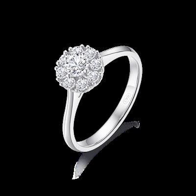 星空—钻石戒指