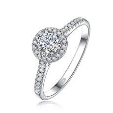 热诚爱Ⅱ-18K金红宝石钻石戒指(新品)