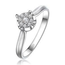守护一生-18K金钻石戒指