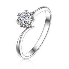 纯爱-18K金钻石戒指(新品)