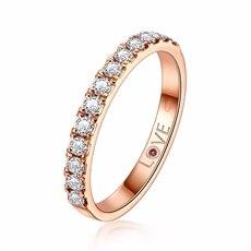 公主花冠-18K玫瑰金钻石排钻(新品)