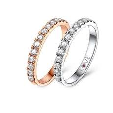 公主花冠 - 18K金钻石排钻(双色可选)