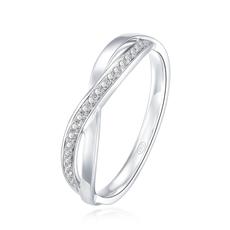 【新品】-钻石女戒G0821B