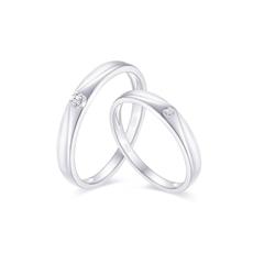 【新品女款】-情侶戒指Q0398