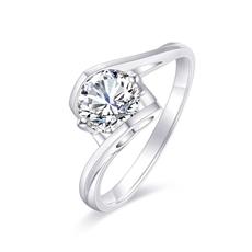 天使之吻 18K金鉆石戒指