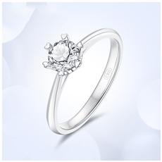 18K金钻石戒指 G0787I