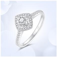18K金钻石戒指 G0798D