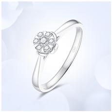 18K金钻石戒指  G0959B