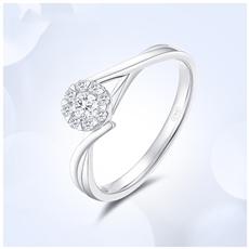 18K金钻石戒指 G0414B