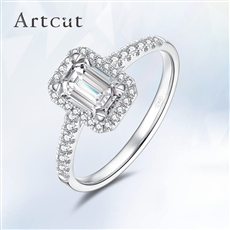 Artcut鉑鉆系列-Treasure寶藏 鉆石戒指