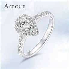 Artcut铂钻系列-Undefiled纯粹 钻石戒指