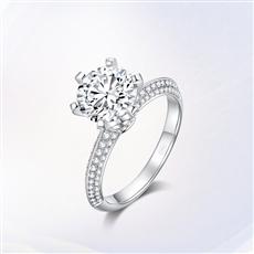 摯愛經典系列 18K金鉆石戒指