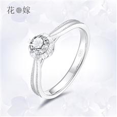 CRD花嫁系列-梦幻花园 铂金钻石戒指