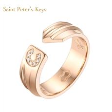 Saint Peter's Keys系列 鉆石戒指