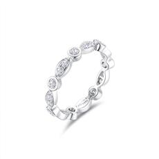 CRD Symbol系列 18K金钻石情侣戒【抢先发售】