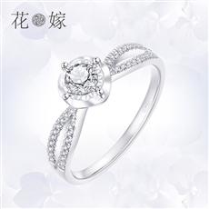 CRD花嫁系列-花冠 鉑金鉆石戒指
