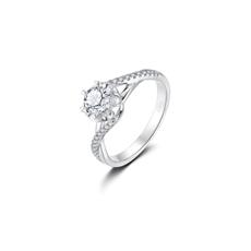 CRD花嫁系列-芙羅拉 鉑金鉆石戒指