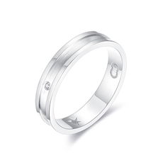 CRD Symbol系列 鉑金鉆石戒指
