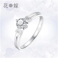 CRD花嫁系列-花蕊 鉑金鉆石戒指