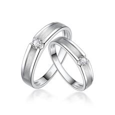 钻石情侣戒 Q0150