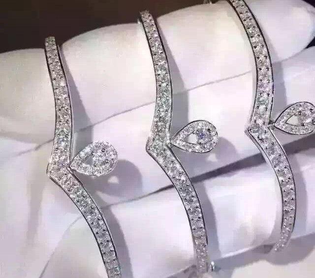 明星同款首饰_明星同款尚美巴黎钻石手镯贵吗 - CRD克徕帝珠宝官网