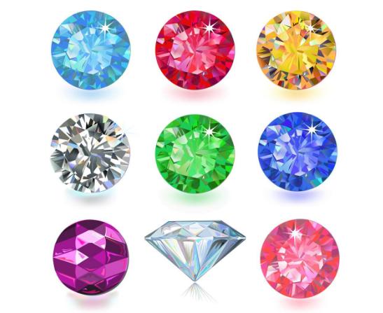彩色钻石的颜色