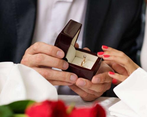 最感动的求婚告白