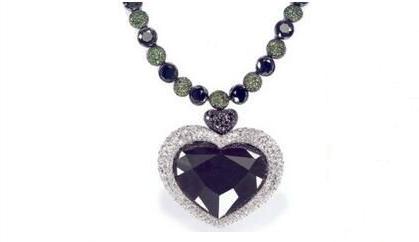 印度黑钻石项链