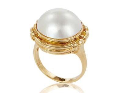 珍珠镶嵌首饰为什么会选择18K金