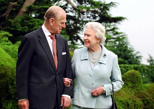 伊丽莎白二世和菲利普亲王