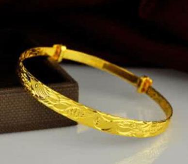 黄金手镯什么款式好看
