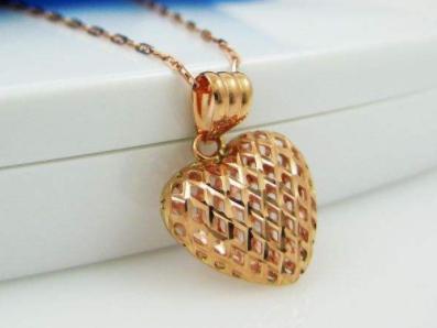你喜欢哪款心形项链