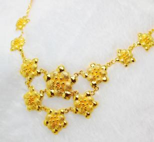 黄金项链女款式有哪些