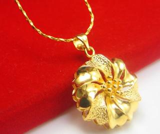 黄金项链最新款式