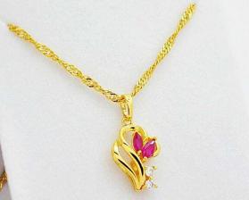 女式金项链价格贵不贵