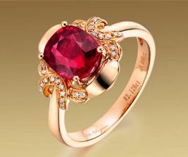 红宝石戒指价格查询表