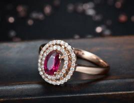 天然红宝石戒指多少钱
