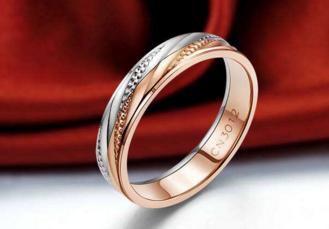 玫瑰金戒指多少钱一克