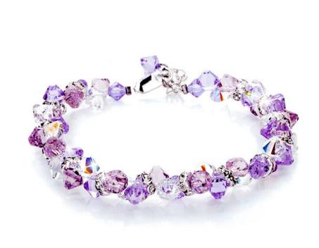 施华洛世奇紫水晶手链是寓意是什么