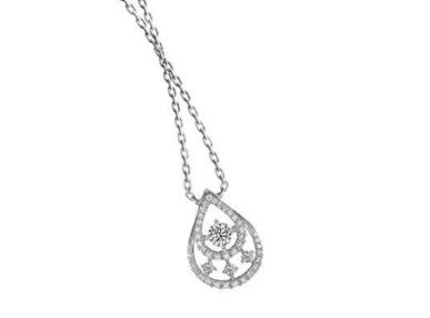 20分的钻石项链的价格是多少