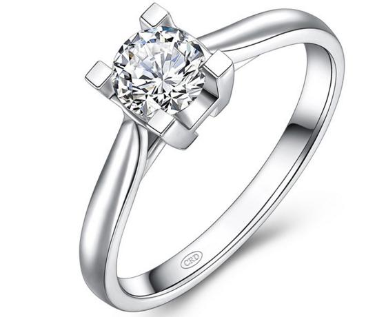 求婚用钻戒结婚用什么戒指